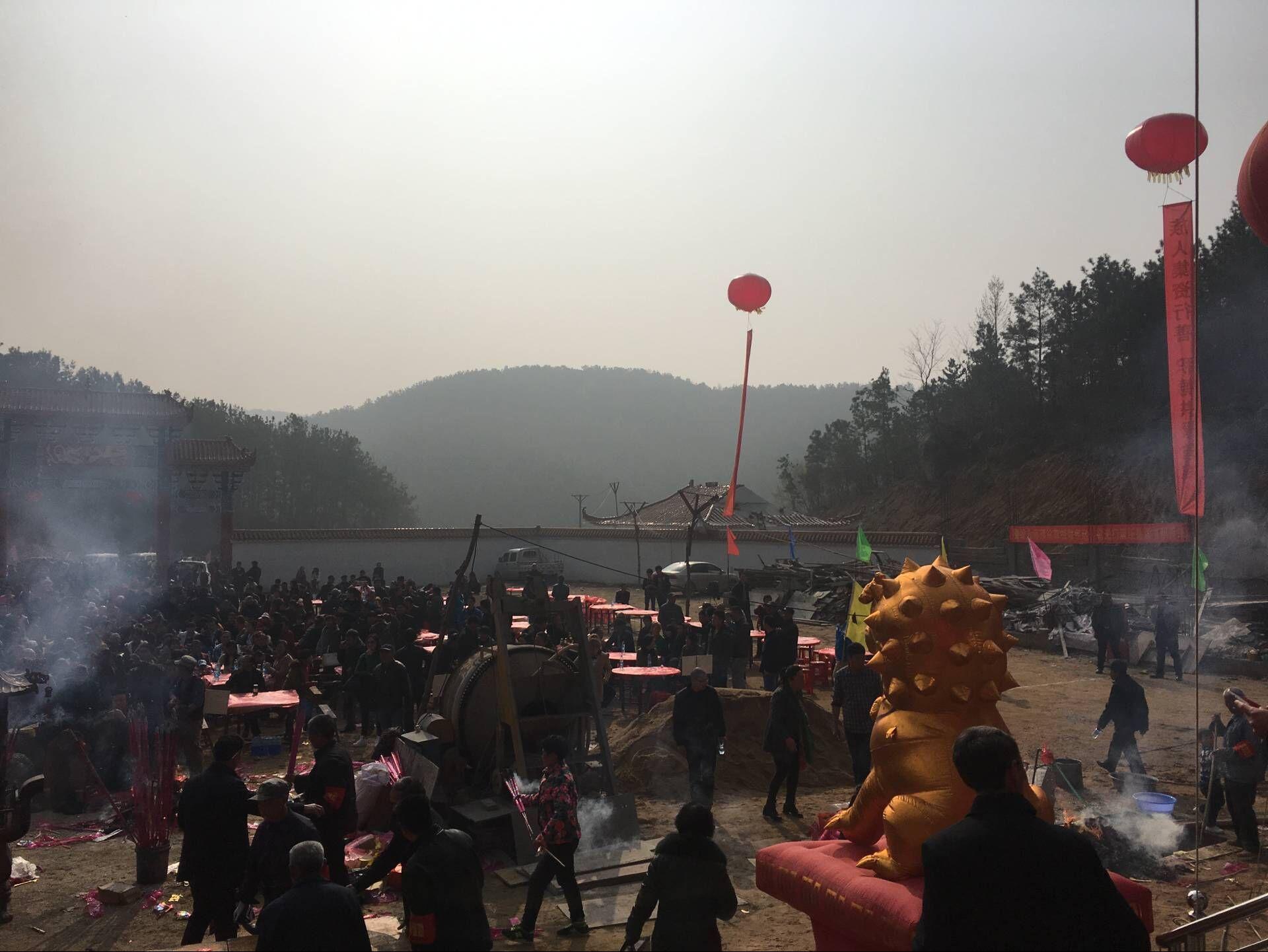 毕刘氏觉明公总祠落成典礼现场